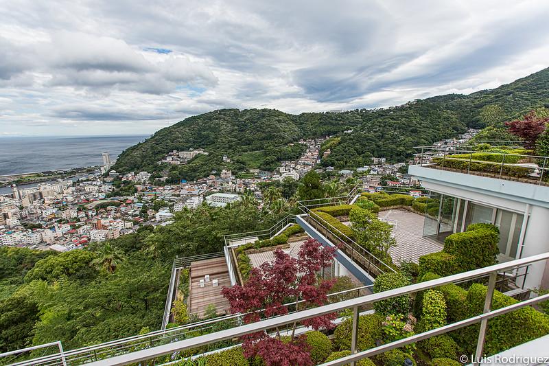 Terrasses des salles de Resonate Atami