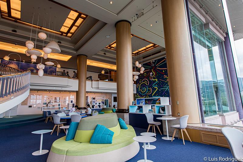 Lounge au neuvième étage