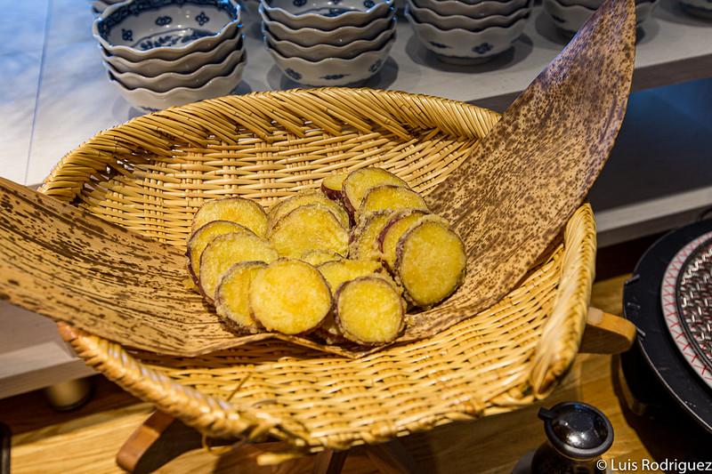Tempura pour dîner à Resami Atami