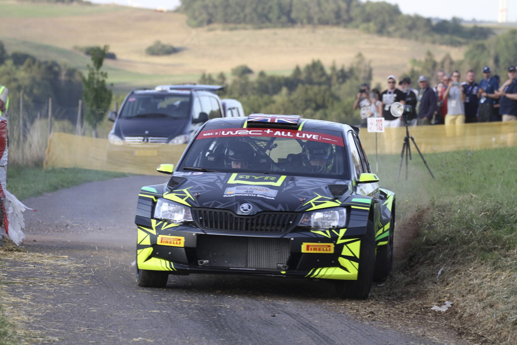 Rally de Alemania WRC 2019 - Martín Graña
