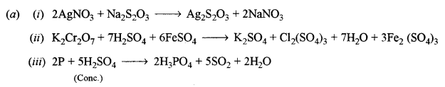 ISC Chemistry Question Paper 2016 Solved for Class 12 Q6