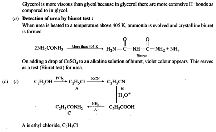 ISC Chemistry Question Paper 2016 Solved for Class 12 Q8.3