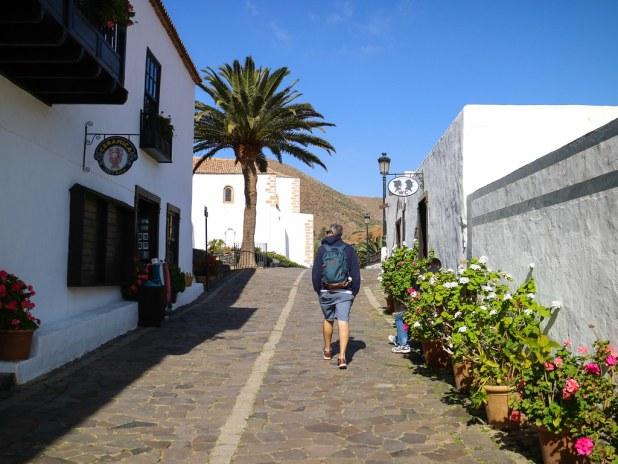 Calles adoquinadas en Betancuria