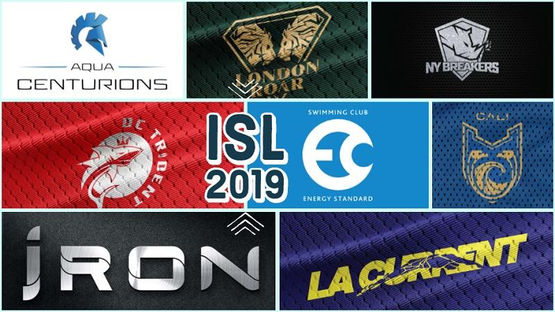 Scopriamo le squadre della International Swimming League 2019