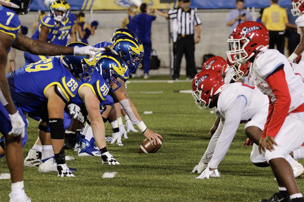 UD Football vs. Del State - 8/12/19 - Louis Mason