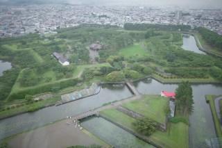 goryokaku tower needs wide lens