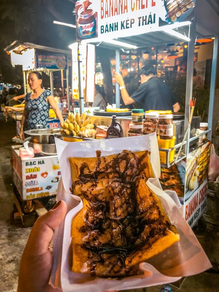 Banana Crepe   Hoi An Street Food