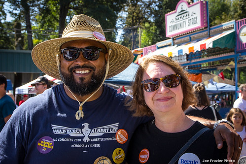 Labor Day with the Albert Lee 2020 Campaign