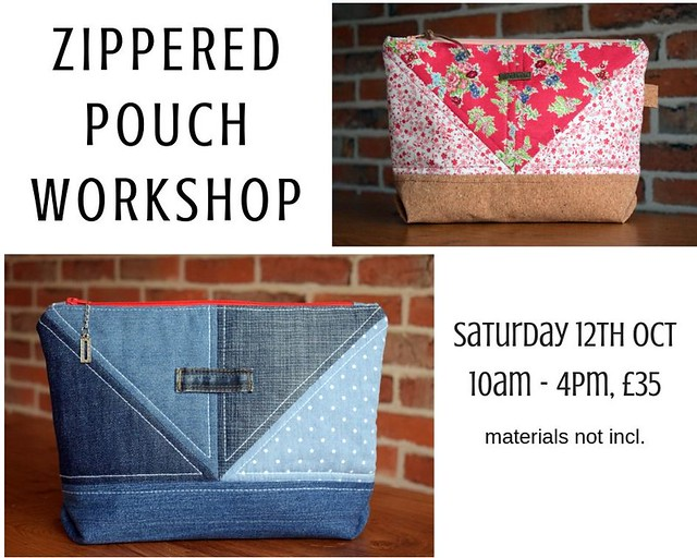 Dotti Denim Pouch Workshop
