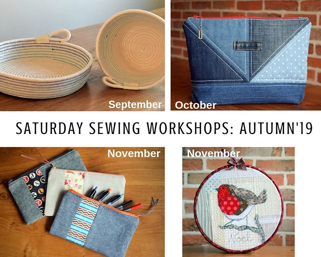 Autumn19 Saturday workshops