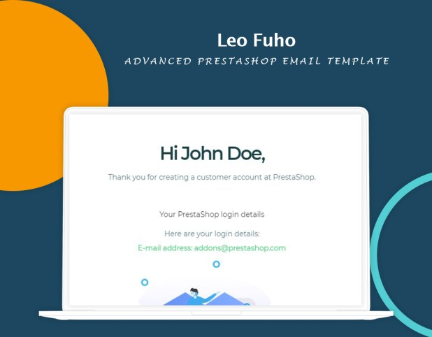 Leo Fuho - Advanced PrestaShop Email Template