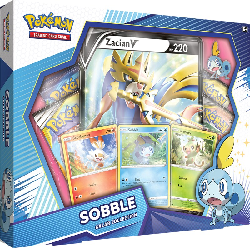 Pokémon TCG Galar Collection Sobble + Zacian Box Shot