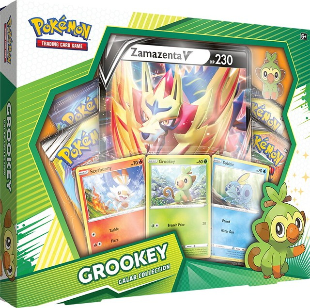 Pokémon TCG Galar Collection Grookey + Zamazenta Box Shot