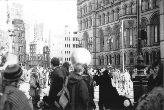 Reclaim The Streets, Manchester, 1996