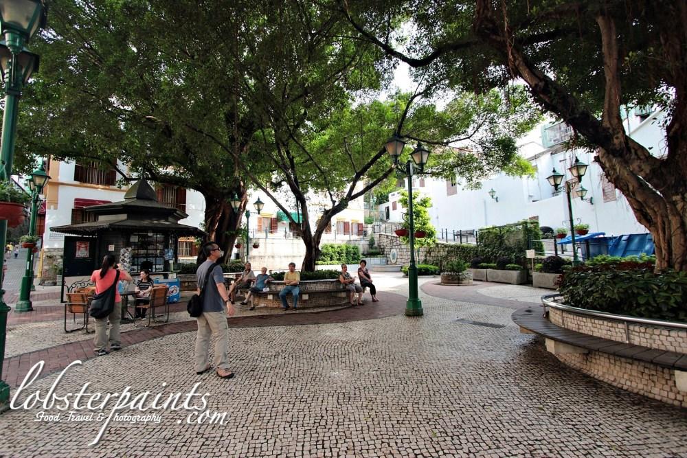 Lilau Square | Macau, China