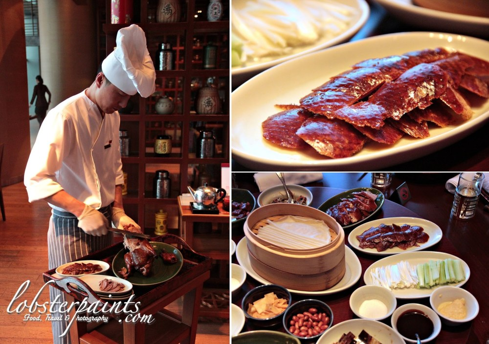 Old Fashioned Peking Duck from Wood Fired Oven with Classic Condiments 老式果木烤鸭 @ Beijing Kitchen 滿堂彩 | Grand Hyatt, City of Dreams, Macau