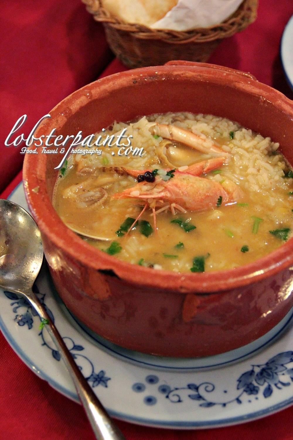 Seafood Rice @ O'Manuel Cozinha Portuguesa 阿曼諾葡國餐 | Macau, China