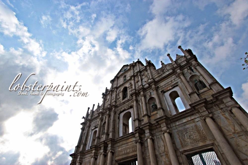 Ruins of St. Paul's 大三巴牌坊   Macau, China
