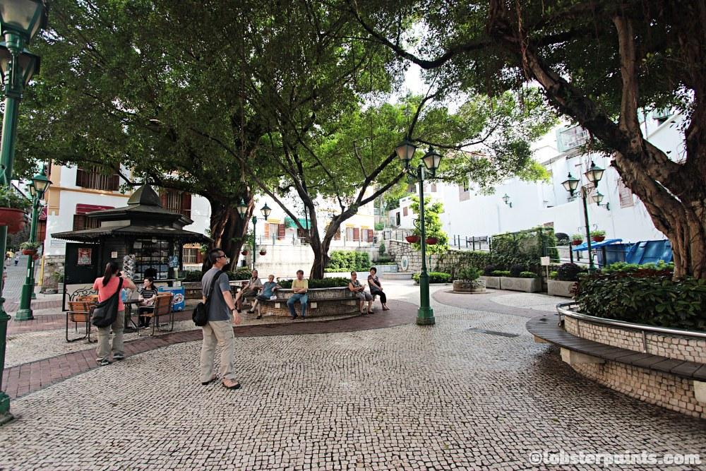 Heritage Trail - Lilau Square