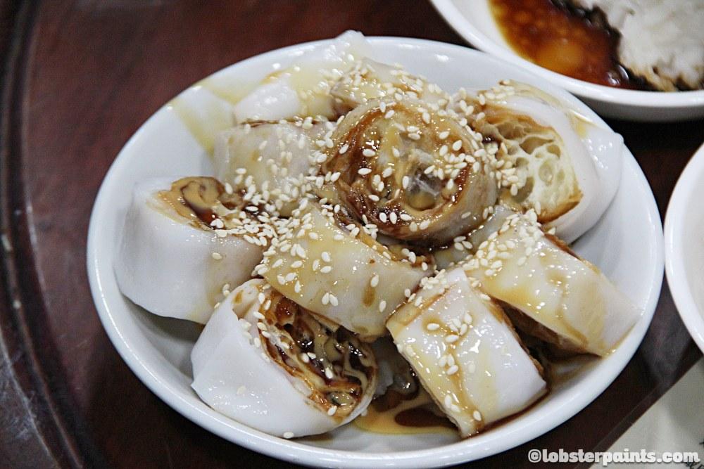 炸腸 | Breakfast at 盛記白粥
