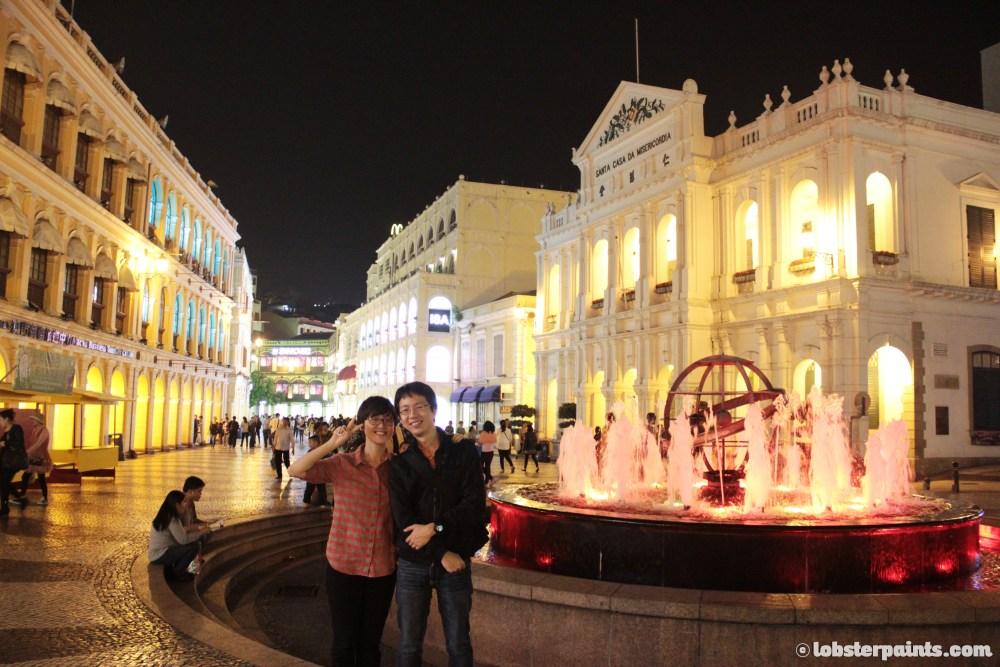 Senado Square 議事亭前地   Macau, China