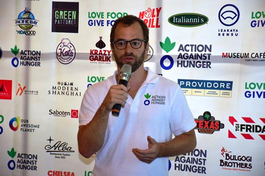 Action Against Hunger Philippines Country Director Guy Halsey