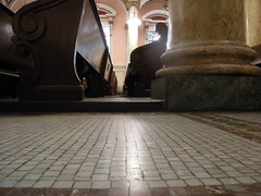 Tiled Aisle at Saint Rita's