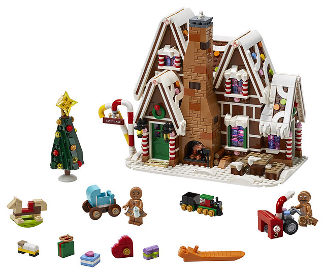 LEGO 10267 Gingerbread House Winter Village 2019