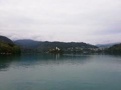 Veduta del lago di Bled