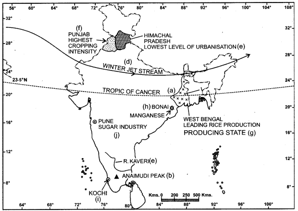 ISC Geography Question Paper 2015 Solved for Class 12 - 2