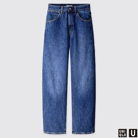 Uniqlo Womens U Wide Fit Curve Jeans