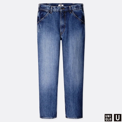Uniqlo Men's U Wide Fit Tapered Jeans