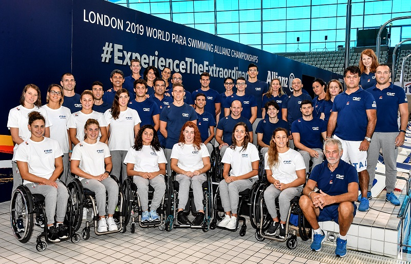 Londra 2019, World Para Swimming | L'Italia sul tetto del mondo
