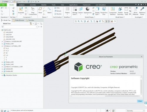 Working with PTC Creo 6.0.2.0 full license
