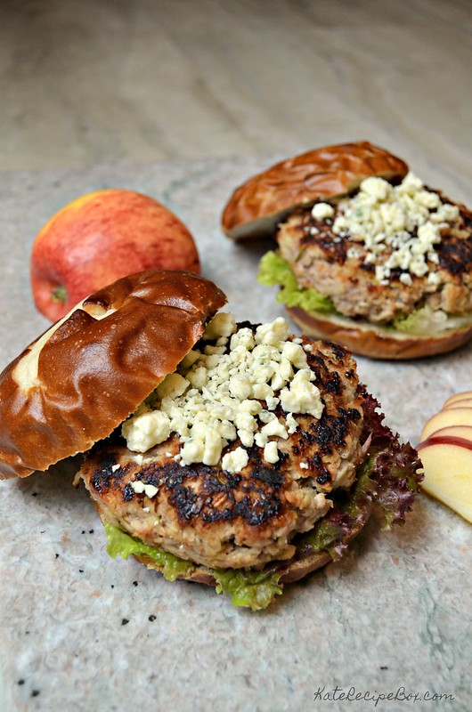 Pork and Apple Burgers 3