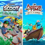 Thumbnail of Adventure Time: Pirates of the Enchiridion and Crayola Scoot on PS4