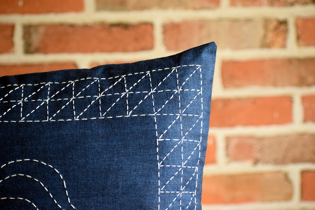 Sashiko Cushion