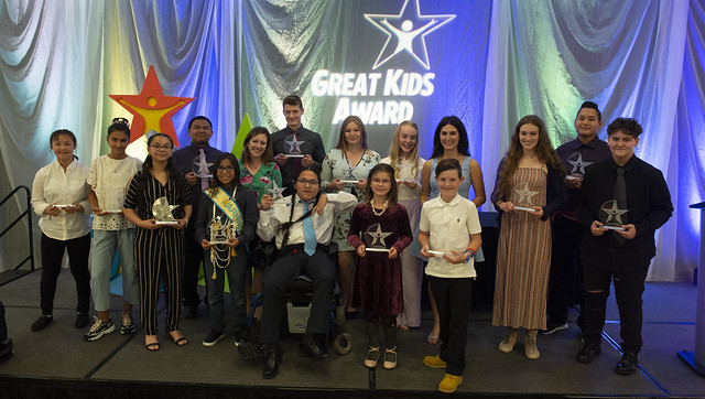 2019 Great Kids Award reception