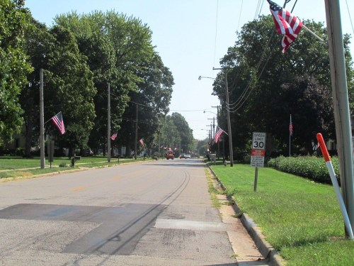 Small Town America Street-scape