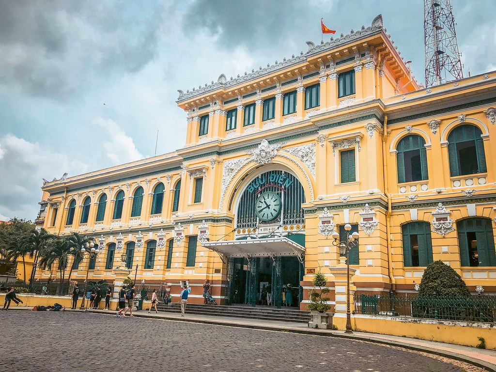 Saigon Central Post Office   Ho Chi Minh City Attractions