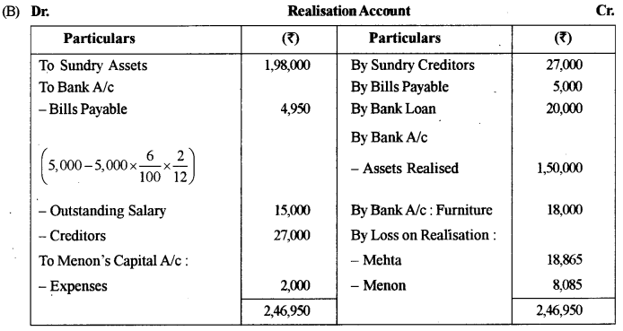 ISC Accounts Question Paper 2017 Solved for Class 12 29