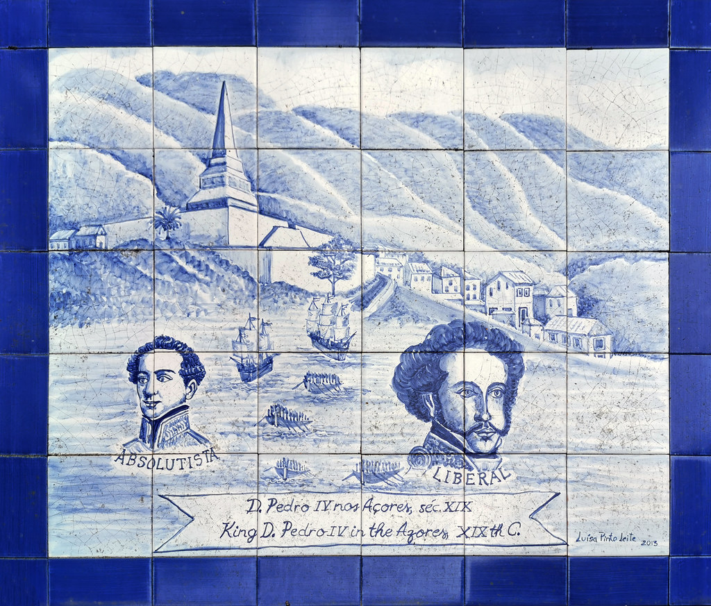 pintura azulejos Jardin Botanico Jose do Canto Ponta Delgada Isla San Miguel Azores Portugal 06