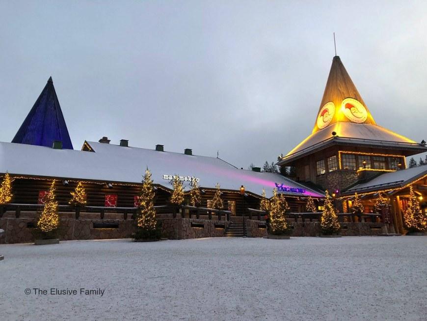 Rovaniemi Finland-Santa Claus Village