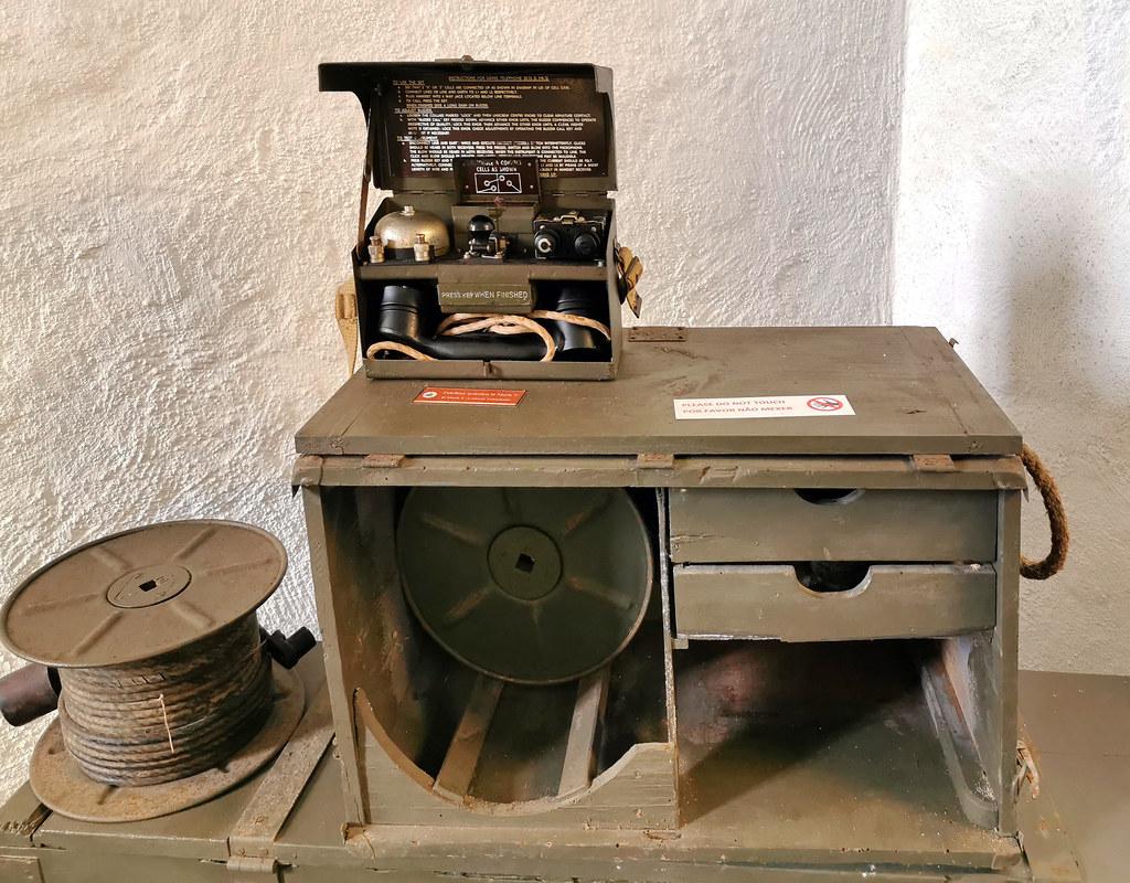 instrumento de comunicacion Museo Militar Forte de Sao Bras Ponta Delgada Isla San Miguel Azores Portugal 04