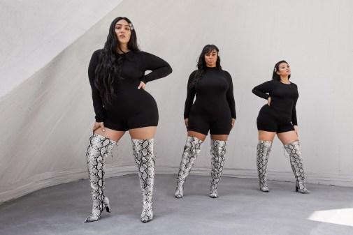 nadia ftf snake thigh high boot