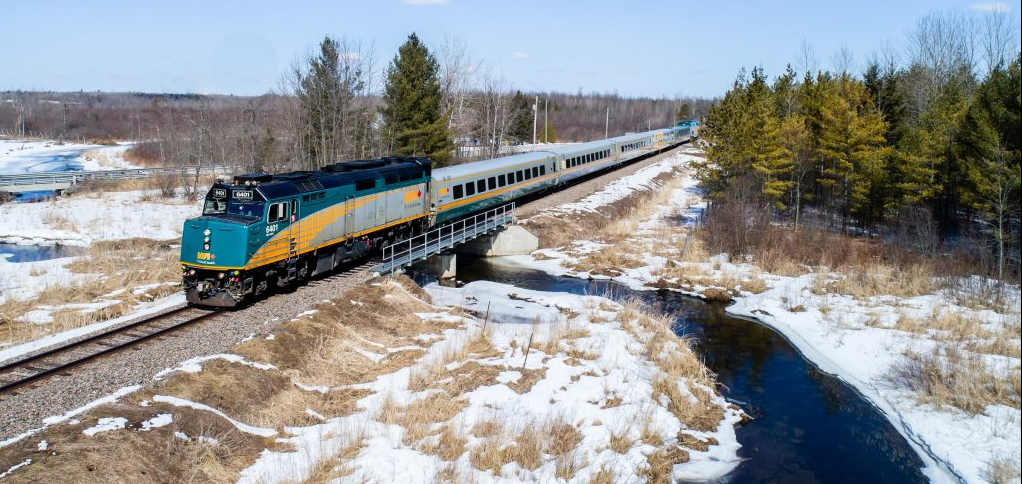 A Journey By Train In Winter Essay