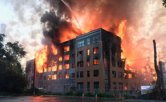 Fire In A Multi-Storeyed Building Essay