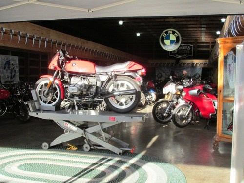 Todd's Bavarian Bike Barn Collection Shines In The Sun