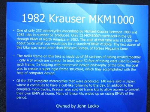 Krauser MKM1000
