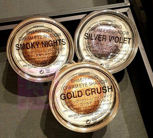Amway Artistry Studio Bangkok Edition Shimmering Cream Eyeshadows